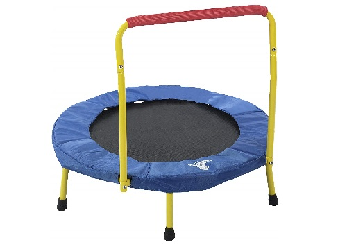 fold and go mini trampoline